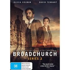 BROADCHURCH-SeRIES 3-Region 4-New AND Sealed-3 DVD Set-TV Series