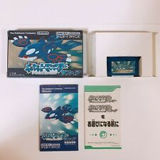 Pokemon Sapphire Pocket Monsters Game Boy Advance GBA Nintendo Japan game