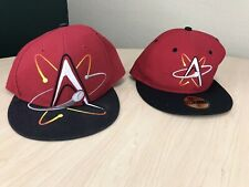 Albuquerque Isotopes New Era Fitted Hat Cap Size 7 1/4  47 Big Logo Read Flaws