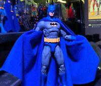 Royal Blue, Dark Blue, & Black Batman CAPE ONLY For Essentials-McFarlane & More!