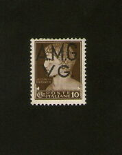 POSTAGE STAMP : ITALY : 10 cent. - brown - AUGUSTUS