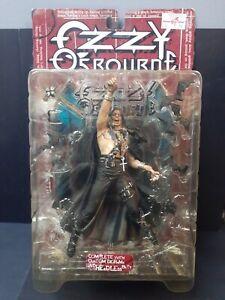 McFarlane Ozzy Osbourne Action Figurine + Complete Custom Diorama Headless Bats