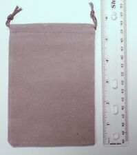 Chessex Small Grey Velour Dice Bag w/ Drawstring CHX02371