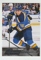 (57588) 2015-16 UPPER DECK YOUNG GUNS ROBBY FABBRI #229