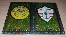 FIGURINA CALCIATORI PANINI 1997/98 SCUDETTO BRESCELLO CARPI ALBUM 1998
