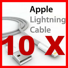 10 Sync Data Charger Cable Cord 4 Apple iPhone 8 7 6 5 iPad mini plus SE 6S X XR