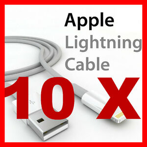 10 Sync Charger Cable for Apple iPhone 11 10 X 8 7 6 5 iPad mini + SE 6S X XL