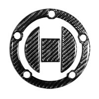 Real Carbon Fiber Tank Cap Filler Cover Sticker Fit SUZUKI GSX-R 600 750 1000