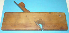 "WOODEN MOLDING PLANE:  ""H. WETHEREL IN NORTON""; RABBET; 1750-1776; *** RARITY."