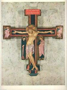 Painted Cross Master Saint Francis Legend Art Print  1958 Free Shipping