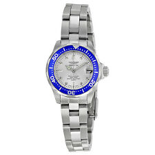 Invicta Pro Diver Silver Dial Stainless Steel Ladies Watch 14125