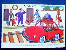 humour ,illustrateur ,automobile,erreur au passage à niveau