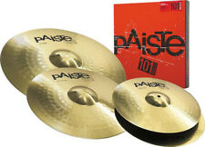Paiste 101 Cymbal Set with Hi-Hats, Crash and Ride (NEW)