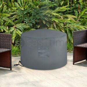 Fire Pit Cover Heavy Duty Large Folding Waterproof UV Resistant Outdoor Patio UK