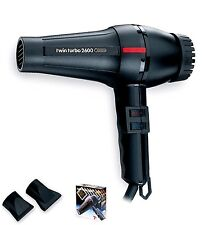 TWIN TURBO 2600 1800 WATTS PROFESSIONAL SALON DRYER MADE IN ITALY MODEL # 304