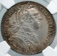 1731 FRANCE Secretary to King Louis XV SILVER FRENCH Old Jeton Medal NGC i88552