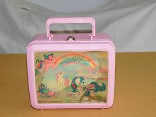 VINTAGE 1986 PLASTIC LUNCH BOX HASBRO MY LITTLE PONY