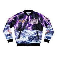 Chalk Line The Ultimate Wwe Challenge Retro Fanimation Satin Jacket Brand New