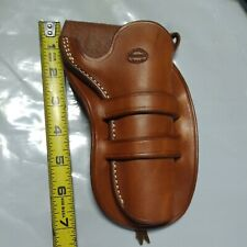 NOS-EL PASO SADDLERY LEATHER HOLSTER--GREAT LOOK--RIGHT HANDED