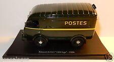 UNIVERSAL HOBBIES RENAULT 1000 KG 1954 POSTES POSTE PTT IN BLISTER BOX 1/43 NEUF