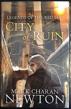 City of Ruin Signed & Dated by Mark Charan Newton Hardback 1st Edition Tor Books