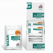 1 Sachets De 120 Filtres Menthol GIZEH Slim-Feuille À Rouler-Filtre cigarette