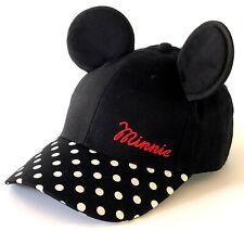 Disney Minnie Mouse Damen Base-cap Baseball Schirmmütze Kappe Ohren Mickey Maus
