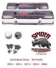 Valve Covers Steel Chevrolet 327 350 383 Stock Height Impala Belair Nova NEW