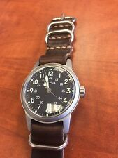 Bulova Limited Edition Military Hack Watch WWII Commemorative
