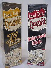 Road Trip Quiz Wit Hollywood Flicks TV Tube Trivia board game