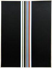 SATORU SATO (né en 1945) - Sérigraphie Originale 1974 Art cinétique Op Art Japon