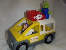 Lego Duplo Pizza Planet Truck includes Buzz Lighyear and an LGM (5 pieces)