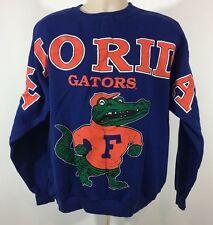 Vintage TSI Florida Gators Sweatshirt Size XL 1994 Blue Orange