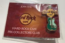 Hard Rock Cafe Enamel Guitar Pin Badge .