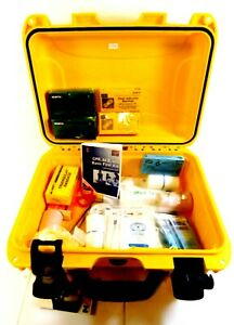 Honeywell North First Aid Kit in Hard Plastic Case 31 Components Serves 25 68WP2