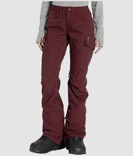 $300 Burton Women's Red Gloria 2-Layer Outerwear Winter Snow Pants Size M