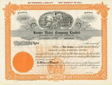USA BEAVER NICKEL COMPANY stock certificate