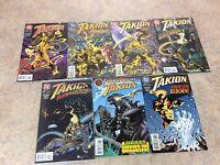 TAKION #1,2,3,4,5,6,7 LOT OF 7 NM 1996 DC