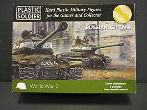 Plastic Soldier Soviet WWII IS-2 Tank [Suitable for Flames of War][5 Models]