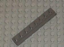 LEGO Train OldDkGray plate wilth door rail 4510 / set 4512 65801 10027