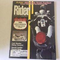 Rider Magazine Heritage Softail Classic November 1989 060117nonrh3