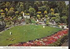 Devon Postcard - The Village Green, Model Village, Babbacombe, Torquay  B2269