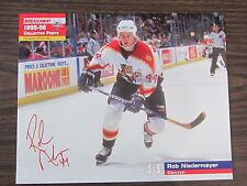 Rob Niedermayer Unsigned 8x10 Stadium Giveaway 95-96 Florida Panthers #17 of #40
