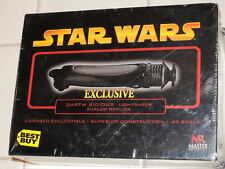 2005 Master Replicas BEST BUY Star Wars DARTH SIDIOUS Die-Cast LIGHTSABER SW-324