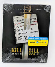 KILL BILL VOL 2 BLU-RAY+DIGITAL HD STEELBOOK BEST BUY EXCLUSIVE NEW & SEALED