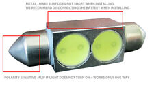 10x 36mm LED AMBER 5050 SMD Festoon C5W 6418 CANBUS Map Dome Light Bulb Lamp