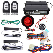 Hopping Code PKE Car Alarm System Keyless Entry Remote Start Push Button Start