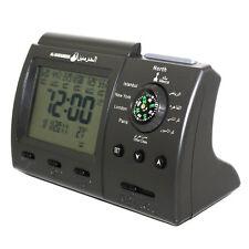 New Digital Automatic Islamic Azan Muslim Prayer Alarm Table Clock Adhan Qibla