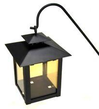 Grablaterne G28630 Grablampe mit Stab, Hängelampe mit Erdspieß aus Stahl