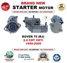 FOR ROVER 75 (RJ) 2.0 CDT CDTi 1999-2005 BRAND NEW STARTER MOTOR 2.0kW 9 Teeth